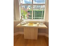 Marble / stone console table