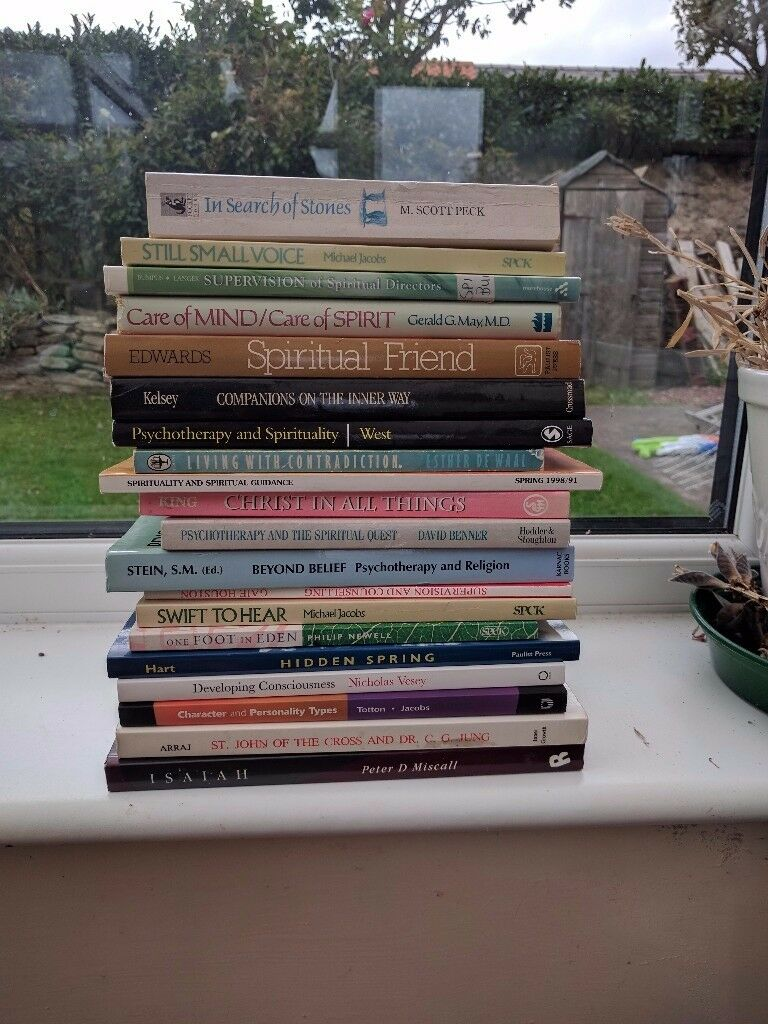 Counselling / Spirituality / Religion / Spiritual Direction / Psychology Book selection 8 lots