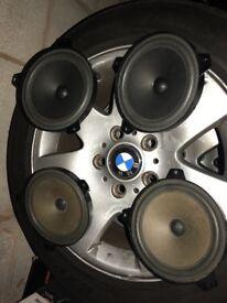 BMW e46 original speakers