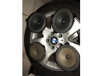 BMW e46 original speakers