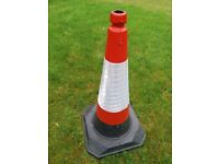 Brand New Large JSP Roadhog 75cm Traffic Road Cone
