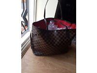 LV Neverfull Bag New