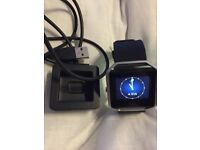 Fitbit blaze - barely used - lrg black - with charger and strap