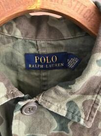 Ralph Lauren Polo men's lightweight camouflage jacket - size medium