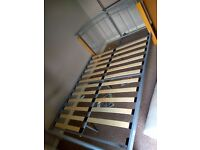King size bed frame flat pack folding - free to collect