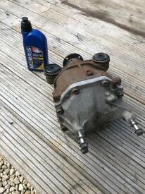 Toyota gt86 rear limited slip differential