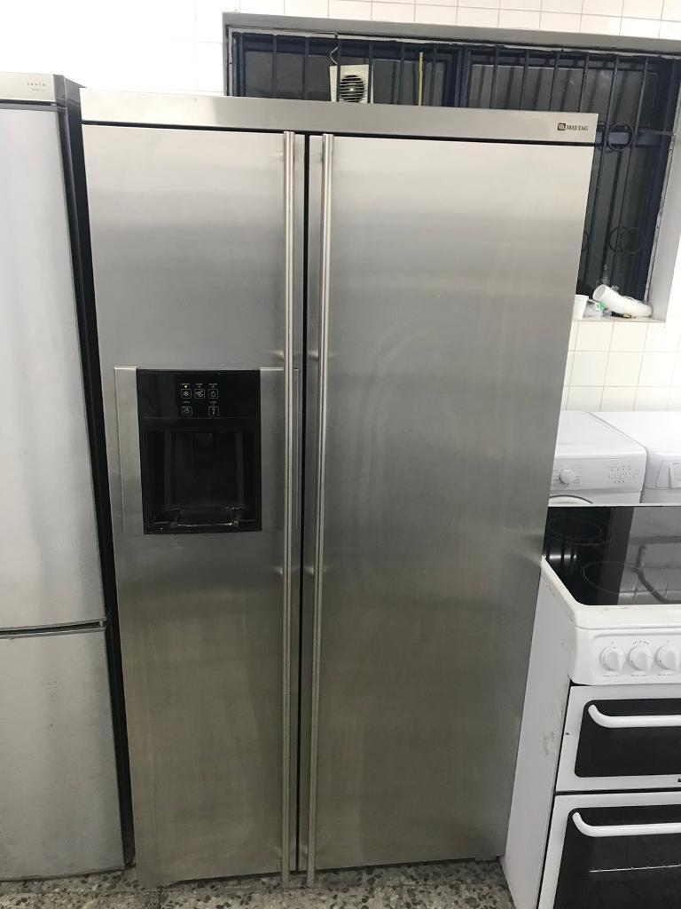 American fridge freezer full working 4 month warranty free delivery thanks