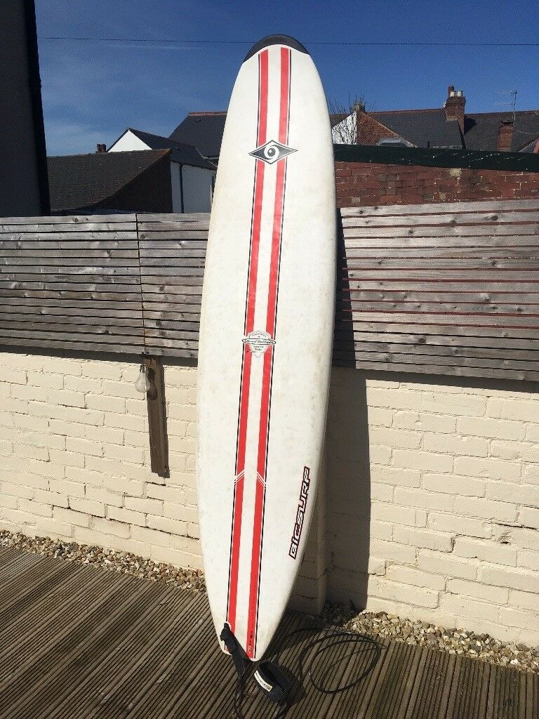 bic 7 9 natural surf 2 surfboard white black and red bicsport