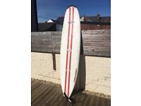 Bic 7'9 Natural Surf 2 Surfboard - White, Black and Red - BicSport