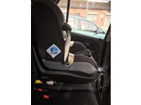 Maxi-cosi Pearl isofix car seat, with cup holder and summer cover
