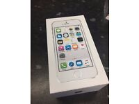 BRAND NEW IPHONE 5S WHITE 16GB EE