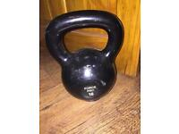 16kg kettle bell cast iron