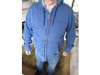 Men's Designer (Fatface) zipped through hoodie