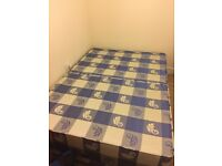 Double Bed Base for sale (optional free used mattress)