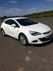 Astra GTC, 2012, White, 160BHP, 2.0, Full Years MOT, Excellent Condition