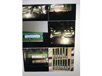 PC & Laptop memory DDR2 & DDR3 job lot