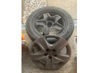 Vauxhall Zafira Tourer 17 Steel Wheels with Tyres