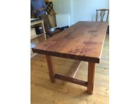 French Elm Rustic table