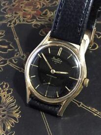 Vintage 9k 9ct solid gold Bentima Mens watch