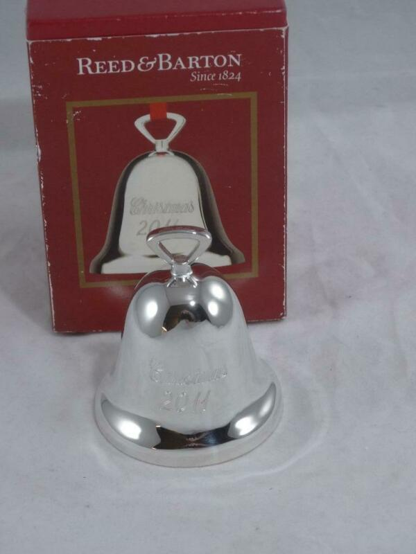 Reed & Barton Silverplated Bell Christmas 2011 Silver Bell