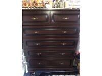 Free Chest of drawers immediate collection