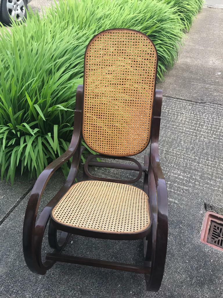 Outstanding Vintage Wicker Rocking Chair In Morpeth Northumberland Gumtree Machost Co Dining Chair Design Ideas Machostcouk