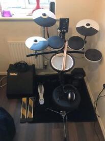 Roland TD1-vk electronic drum kit.