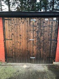 18 x 10 Concrete Pre Fab Shed/Garage
