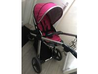Pink oyster pushchair!! Great condition
