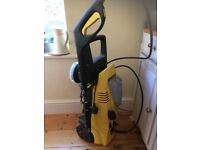 Car power jet water washing machine