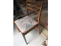 G Plan Dining Chairs - set of 4