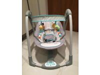 Taggies baby rocker and swing