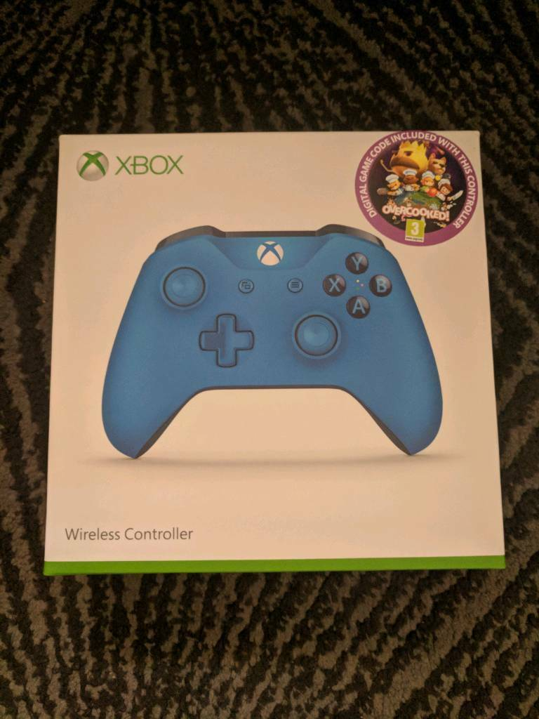 Xbox One Controller Blue - Free game code included | in Ipswich, Suffolk |  Gumtree