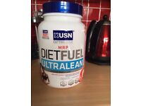 New & Sealed - USN Diet Fuel - Ultra Lean - Protein Powder - 1kgs