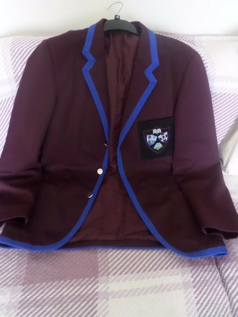 DALRIADA SCHOOL UNIFORM BOY'S BLAZER SIZE 13 CHEST 35 INCHES