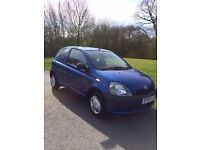 Toyota yaris in excellent condition new clutch and loads of paperwork 59000 miles only from new
