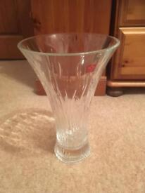Crystal Timeless Glass Flower Vase Centrepiece