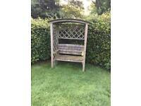 Garden Arch seat/bench