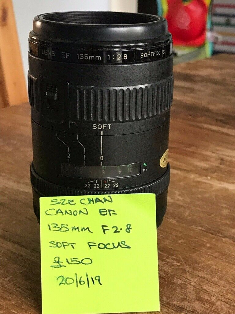 Canon 135mm f2 8 soft focus lens | in Hove, East Sussex | Gumtree