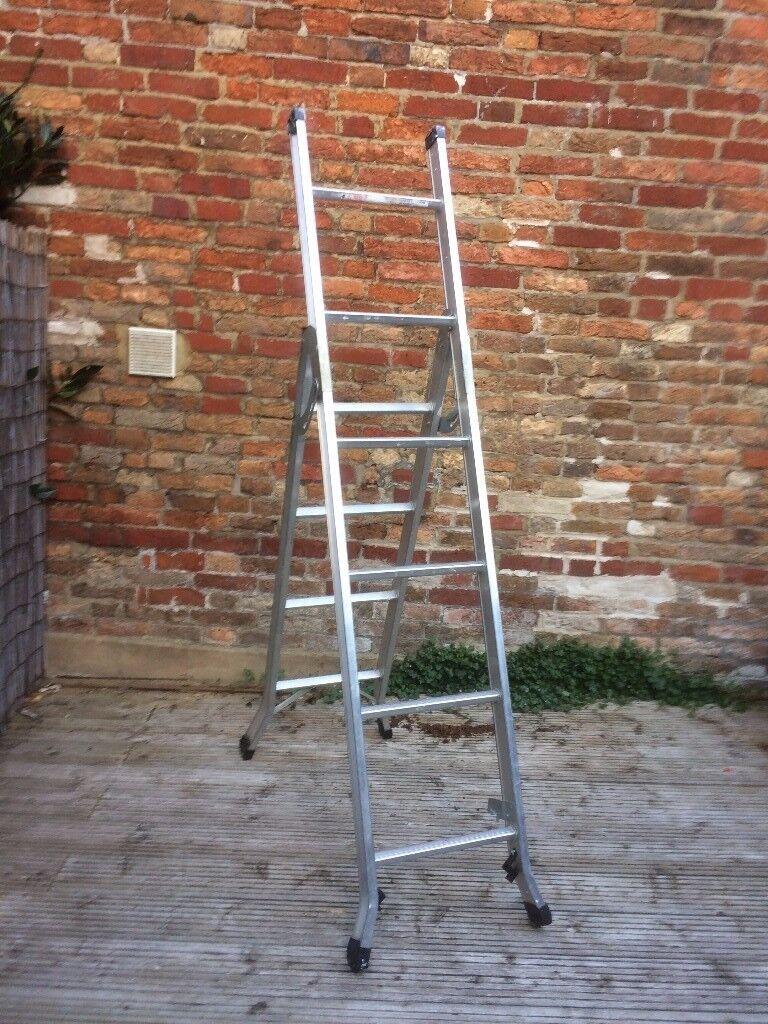 3 Way multi purpose stepladder , ladder , stair ladder