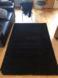 Black Area Rug/Carpet (Hampen, IKEA)