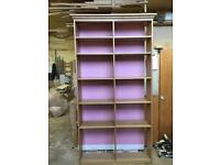 Oak display units / storage