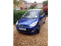 Hyundai i10 1.2 Style 5dr, sunroof, low mileage, service history, heated front seats, MOT Dec 2018