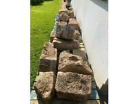 5 x Pallets of large cut faced walking stone