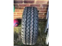 Sprinter tyre with rim