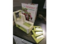 Spiralizer for fruit/veg etc with CookBook