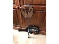 Carlton Badminton Rackets. Air blade Rasmussen. Specialists at speed. Very good balances.