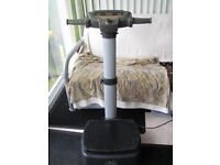 Carl Lewis vibration plate trainer