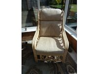 Wicker Conservatory Furniture, Chairs and stool