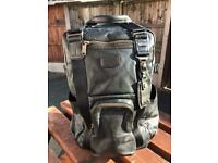 9f4c6627b Tumi full leather backpack Lejeune tote Alpha Bravo